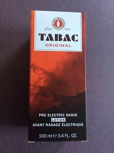 TABAC PRE ELECTRIC SHAVE NEW BOXED 100ml