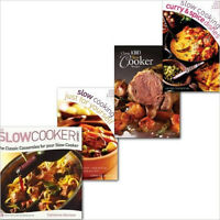 The Slow Cooker Cookbook Collection Everyday Family Recipes in 4 Books Set(Class