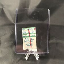 Simple Minds China Crisis Michigan Theatre Concert Ticket Stub Vintage June 1984