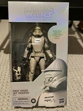 🔥RARE🔥 STAR WARS BLACK SERIES CARBONIZED GRAPHITE FIRST ORDER JET TROOPER