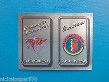 Figurine Calciatori Panini 1990-91 N.531 Scudetto Campania Casarano Da edicola