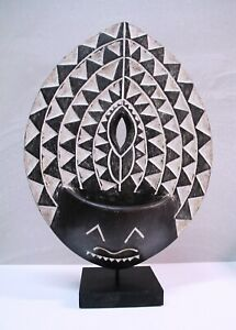 African Tribal Wooden Art Tree-Man Leaf Harmony Mother Nature - UNIQUE!