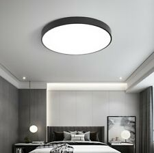 Modern LED Lighting Ultra-thin Macaron Round Flush Mount Ceiling Light Fixtures