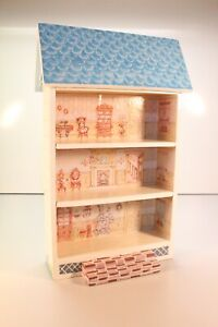 3 Story Wooden Dollhouse ...M98