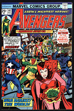 AVENGERS #147, MAY 1976, GEORGE PEREZ ART, WHITE PAGES!