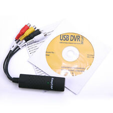 1x USB 2.0 TV DVD VHS Video Audio AV Capture Support WIN 7 WIN 8 EasyCAP.Pro