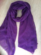 Bufanda Morado/abrigo/Hijab-leve arruga Gasa Tipo-Gran
