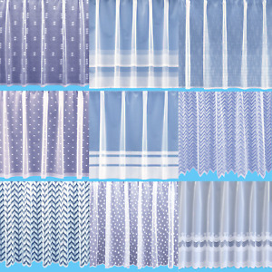 Contemporary Net Curtains - Free Postage - Sold By The Metre