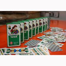 10 Pack Schafkopf Karten Tarock Spielkarten mit 36 Blatt Schafkopfkarten Spiele