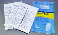 Eureka F&G Vacuum Bags By DVC (Fits Many Commercial Sanitaire Vacuums)