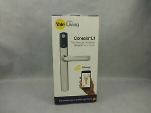 Yale Conexis L1 Keyless Smart Door Lock Polished Chrome New In Opened Box