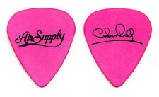 Air Supply Graham Russell Signature Pink Guitar Pick - 2017 Tour
