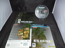 PS2 Metal Gear Solid 3 Snake Eater Limited Metal Edition _ per Console PS3 _ PAL