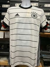 Adidas Germany Home Stadium  Jersey Aeroready  Euro2020 White Black Size XL