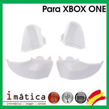 Pack De Boutons LB RB Rt Lt Manette Xbox One X-Box Lot Déclencheurs Blanc L R