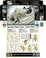 NEW! Master Box — German Tank Crew, 1944 — Plastic model kit 1:35 Scale #35201