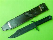Vintage Bulgarian Bulgaria Commando Survival Army Military Fighting Knife Sheath