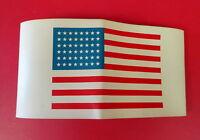 AIRBORNE/PARATROOPER 48 STAR AMERICAN FLAG ARM BAND (brassard)