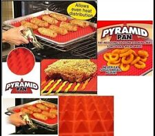 Non-stick Silicone Pyramid Pan Baking Mat Mould Cooking Sheet Oven Liner Tray BT