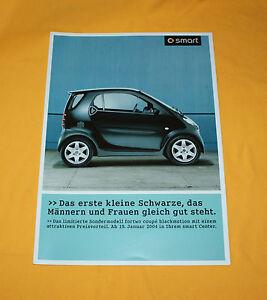 Smart Fortwo Blackmotion 2004 Prospekt Brochure Depliant Catalog Folder Prospect