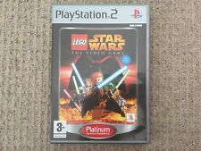 Lego Star Wars Platinum-Playstation 2 PS2 komplett PAL