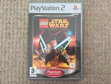 Lego Star Wars Platinum - Playstation 2 PS2 Complete PAL