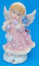 Vtg Roman Loving Thoughts Cherubim Angel Snowflake Figurine Lauren 62482 1997
