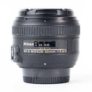 Nikon AF-S 50mm F1.4 G Lens - Excellent