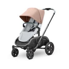 Quinny Hubb Graphite Frame Shopping Stroller-Cork/Grey