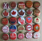 25 DIFF MIXED INTERNATIONAL FORGEIGN MOST OBSOLETE BEER BOTTLE CAPS