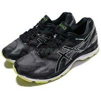 Asics Gel-Nimbus 19 Black Glacier Grey Green Men Running Shoes T700N-9096