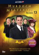 Murdoch Mysteries: Season 13 (DVD, 5-Disc Set) Brand New & Sealed US Seller
