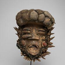 A140 - MASQUE GUERE TRES ANCIEN, CIRCA 1940, ART TRIBAL PREMIER AFRICAIN