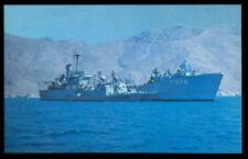 USS Graham County LST-1176/AGP-1176 postcard Patrol Div. 21 gunboats