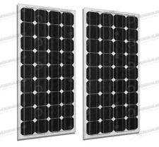 2 x panneau solaire moncristallin 300W 24V tot. 600W maison cadre noir
