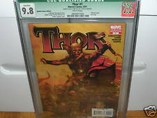 THOR #1 GREEN CGC  9.8 ZOMBIE VARIANT SIGNED WOLVERINE SKETCH COVER