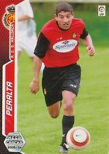 N°456 PERALTA # ARGENTINA RCD.MALLORCA CARD PANINI MEGACRACKS LIGA 2006