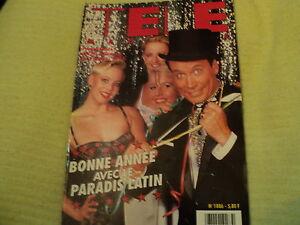 TELE MAGAZINE N°1886 - 1991 Paradis Latin Lova MOOR Elvis PRESLEY Patrick JUVET