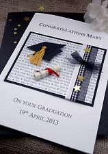Large Personalised Handmade Congratulation Graduation Card