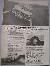 1972 Austin Morris 2200 Original advert