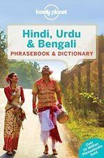Lonely Planet Hindi, ourdou ET BENGALI carnet & dictionnaire par Lonely Planet...
