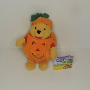 Disney Winnie the Pooh in pumpkin plush