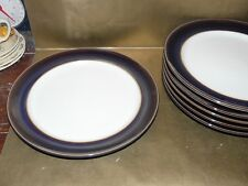 "denby amethyst dinner plate 11"" diameter new / unused"