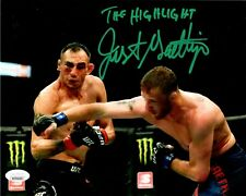 Justin Gaethje autographed signed inscribed 8x10 photo UFC The Highlight JSA COA