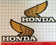Honda wing Logo Vinyl Decal Car Truck Window Sticker Motorcycle atv