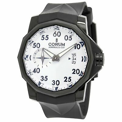 Corum Admirals Cup Competition 200pcs Limited Edition 01.0068 White Dial Automat