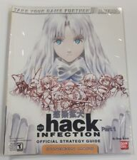 Dot Hack Part 1 Infection (Official Strategy Guide) Brady Games (Good Condition)