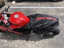 Waterproof motorcycle seat cover