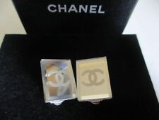 Authentic CHANEL clip earrings (mirror)