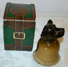VTG 81 Avon Chesapeake Collection Dog Jigger Candle Unused Mint Hunting Bar Ware
